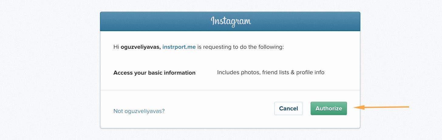 instagram silme ve fotoğraf yedekleme