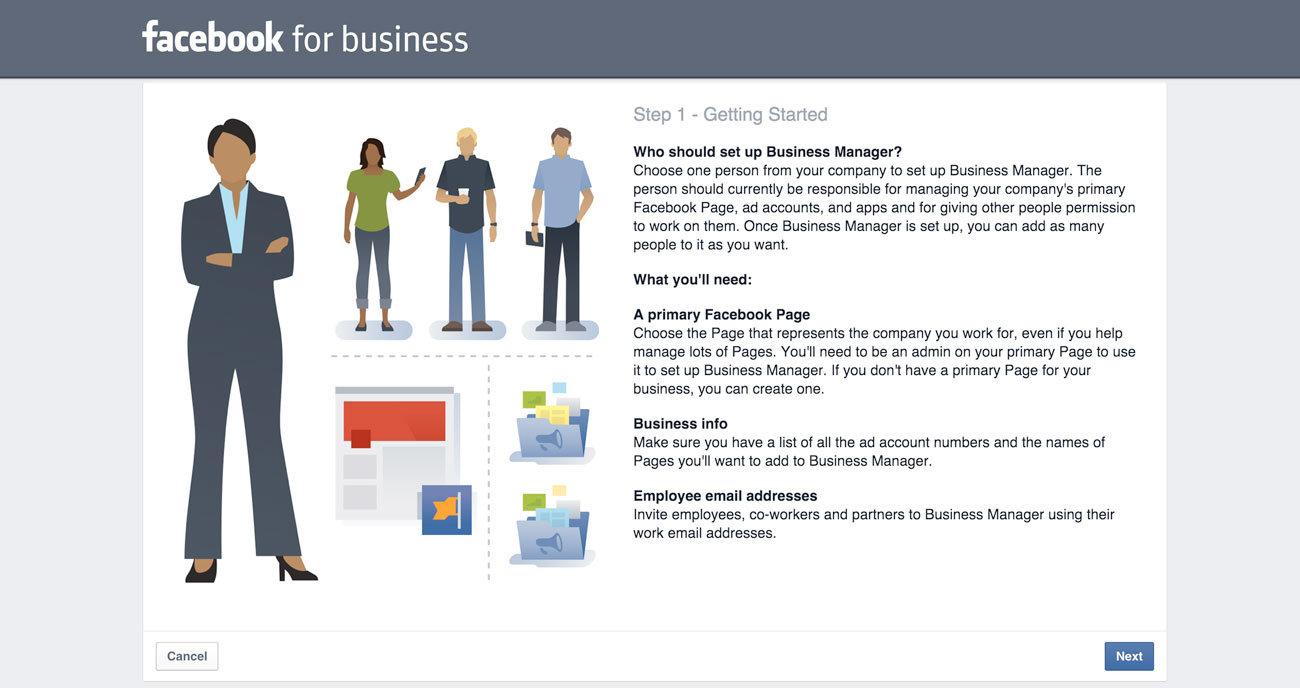 instagram reklam nasıl verilir - facebook business kaydı