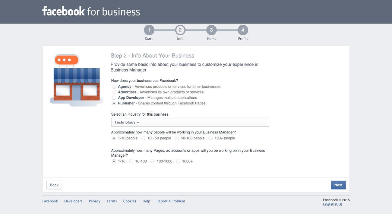 instagram reklamları - facebook business kaydı