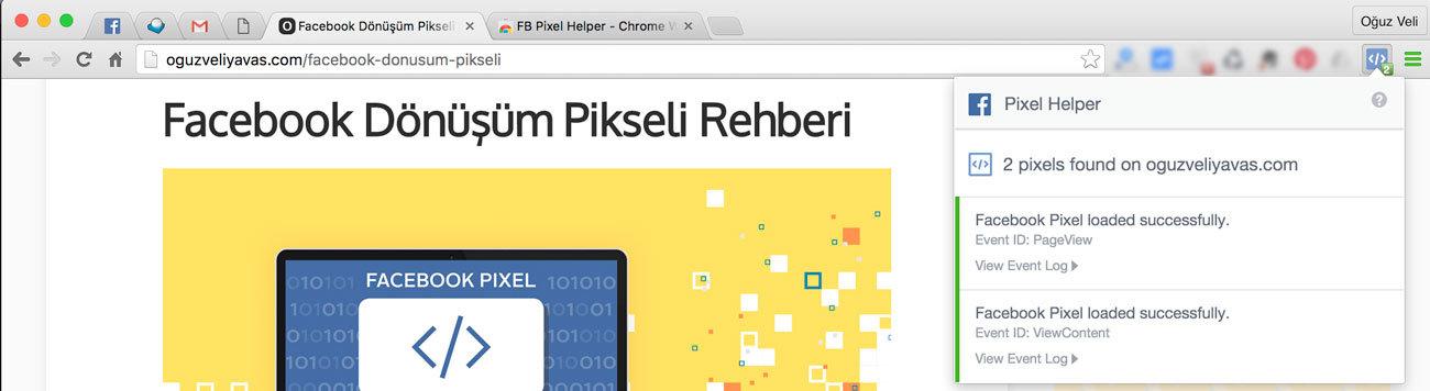 Facebook piksel kodu ekleme - facebook piksel chrome eklentisi