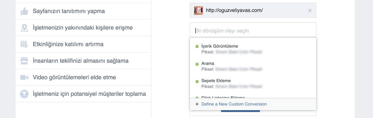 Facebook dönüşüm pikseli reklamda nasıl kullanılır