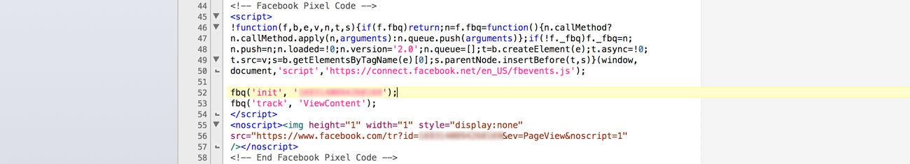 Facebook Dönüşüm Pikseli Sayfa Kodu