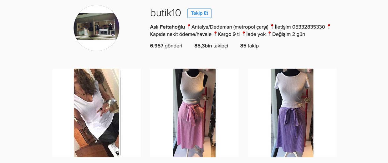 en iyi instagram butikleri - butik10