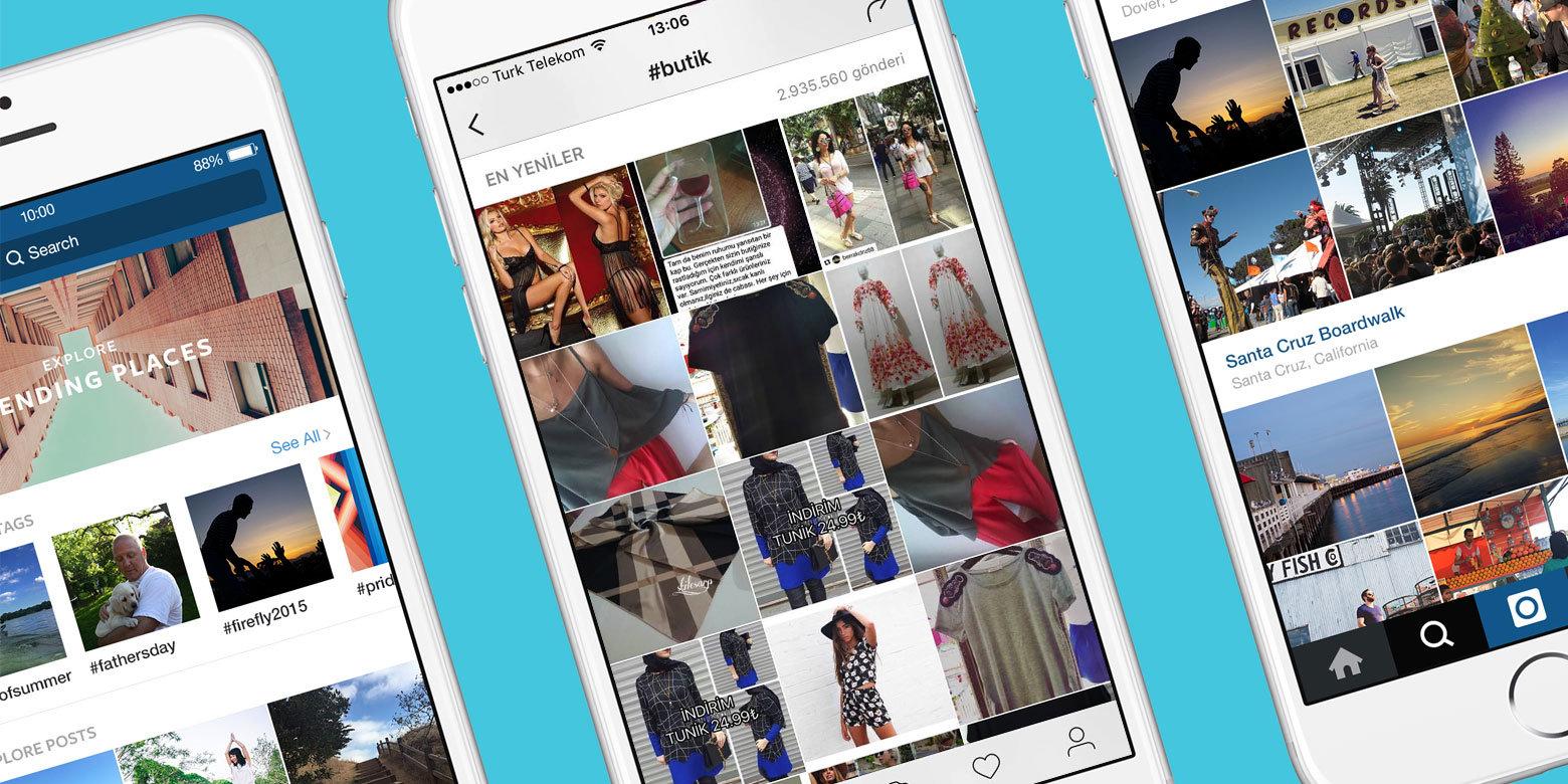 instagram en iyi butikler - instagram butikleri