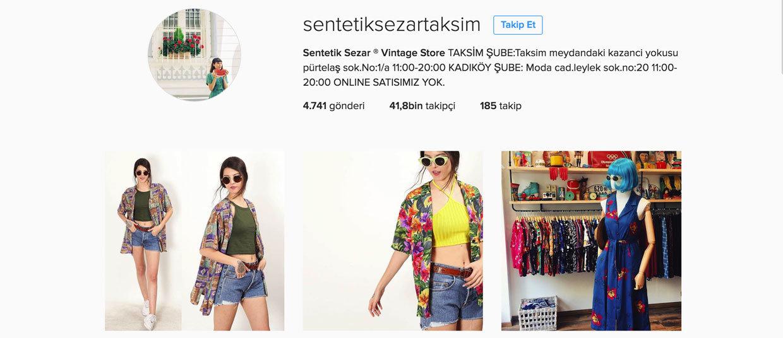 en iyi instagram butikleri - sentetiksezartaksim