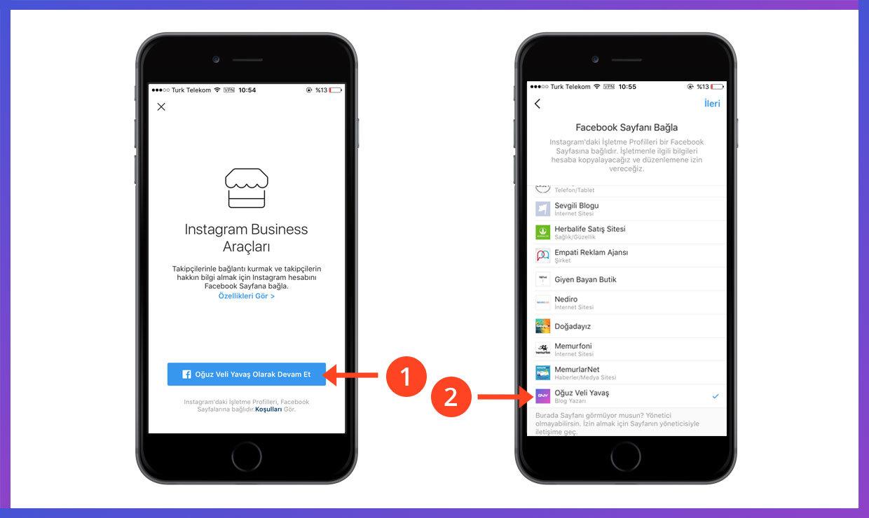 instagram işletme hesabı nasıl kullanılır - instagram iletişime geç butonu ekle