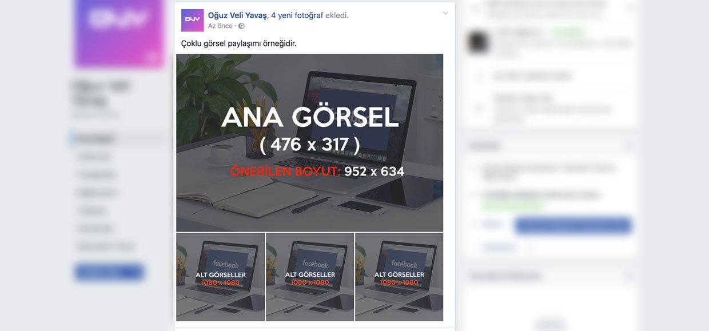 Facebook Albüm Şeklinde Paylaşım - Facebook Gönderi Öne Çıkarma Reklamı