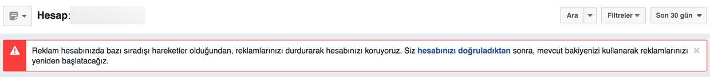 Kapatılan Facebook reklamı nasıl açılır - Facebook reklam hesabım ilke ihlali nedeniyle kapatıldı