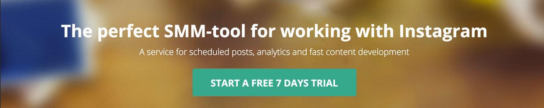 Instagram zamanlama aracı Onlypult 1 haftalık ücretsiz deneme