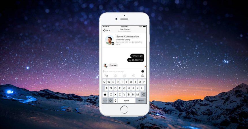 Facebook Messenger Uçtan Uca Şifreleme Özelliği - Messenger Gizli Konuşma